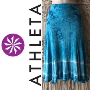 Pink Lotus for Athleta tie dye Laya skirt